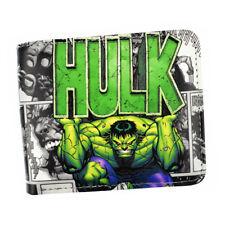 Marvel Avengers Incredible Hulk Bruce Banner Leather Slim Wallet Card Holder