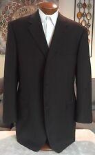 Canali Mens Gray 3 Btn Dual Vent Suit Sz 52 XL Excellent!