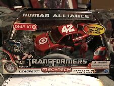 Transformers Dark Of The Moon Human Alliance Leadfoot w/ Sergeant Detour.