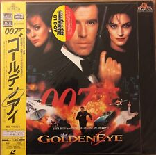 Laserdisc Goldeneye Japanese With OBI
