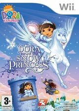 Dora sauve la neige princesse wii