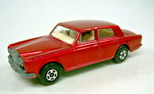 Matchbox Superfast Nr. 24A Rolls Royce rotmetallic met. grüne Bodenplatte