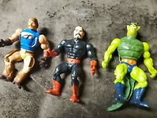 Lot of 3 He-Man Figures MOTU  Loose Nice 80?s action figures