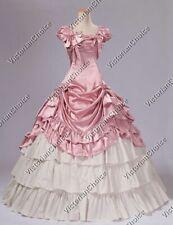 Southern Belle Victorian Fantasy Ball Gown Theatre Wear Fairytale Dress 270 Xl