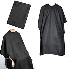BLACK BARBERS HAIR CUT/CUTTING HAIRDRESSING HAIRDRESSERS SALON BARBER GOWN CAPE