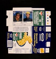 1987 Jose Canseco~Johnny Ray NEVER~FOLDED KRAFT HOME PLATE BOXES Baseball Cards