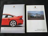2002 Porsche Press Kit 996 GT2 911 Turbo Targa Carrera 4S Media Brochure Catalog