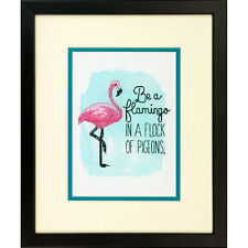 Dimensions Be A Flamingo Counted Cross Stitch Kit