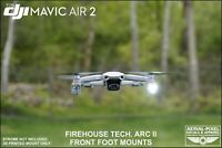 DJI Mavic Air 2 Strobe Mounts For Strobon Cree, Firehouse Tech Dual ARC II and V