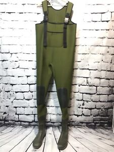 Chest Waders with Wellies Attached