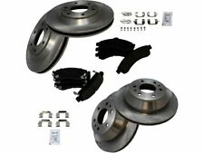 For 2002-2005 GMC Envoy Brake Pad and Rotor Kit Front and Rear 99541RG 2003 2004
