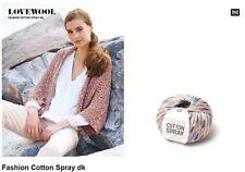 Wolle Rico Fashion Cotton Spray dk 383206 Bändchengarn GP 7,98/100g