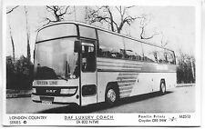 Pamlin photo postcard M2513 London Country Green Line DAF Coach A832NTW 1983