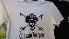 Captain morgan rum T- shirt new captain morgan white rum  ~ ~ SIZE XL  T SHIRT