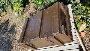 Nice Vintage wooden military wooden Ammunition storage box crate