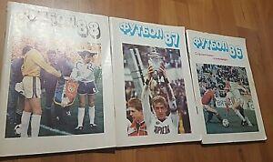 Directory Calendar Soccer 1986 1987 1988 USSR Original 100% Rarity Rarity