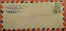 DR WHO 1964 TAIWAN SOUTHEAST ENGINEERING CORP AIRMAIL TO USA 150427