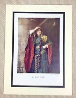 1899 Antique Print Portrait of Ellen Terry Actress Victorian Pre Raphaelite Lady