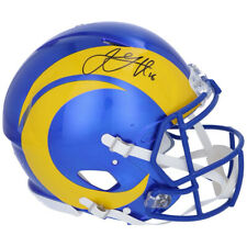 JARED GOFF Autographed LA Rams Speed 2020 Authentic Helmet FANATICS