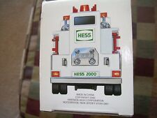 Hess Truck from 2000, removed from box once but not used