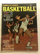 1961 62 Basketball BOSTON CELTICS Bill RUSSELL Pro College Preview ALL AMERICANS