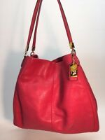 COACH MADISON SMALL PHOEBE SHOULDER BAG IN LEATHER BAG HANDBAG