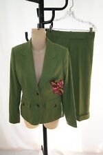 LILLY PULITZER WASABI  green pant outfit suit  0/2 ( SU 200 )