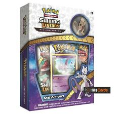 Pokemon: Mewtwo Shining Legends Pin Collection Box: Inc Booster Packs Promo Card