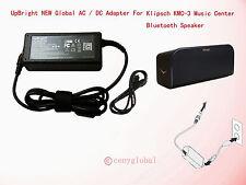 AC Adapter Fr Klipsch KMC-3 Music Center Wireless Bluetooth Speaker Power Supply