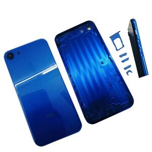 Blue For iPhone 7 to iPhone 8 Metal Back Housing Rear Battery Door Middle Frame