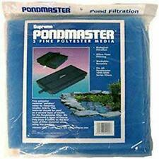 3 Fine Polyester Filter Media Pad Pondmaster 1000 2000 Poly Pond Pads Danner