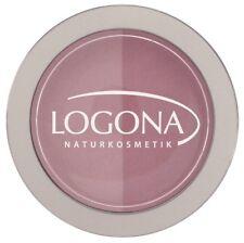 LOGONA Naturkosmetik Blush Duo 01 Rose Pink 10 G Bio Rouge rosa