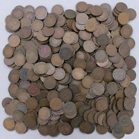 1900-1908 Indian Head Cent Lot 500 Coins Most Would Grade Good GD US Coins