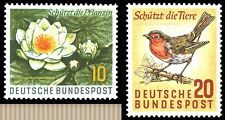 EBS Germany 1957 Protection of Nature Michel 274-275 MNH**
