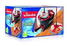 Vileda Turbo EasyWring & Clean KomplettSet Wischmop Eimer Bodenwischer Reiniger