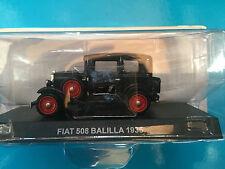"DIE CAST "" FIAT 508 BALILLA - 1935 "" 1/43 CARABINIERI"