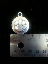 Clemson Tigers NCAA College Football Silver Charm Free Shipping