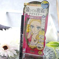 ☀Isehan Kiss Me Heroine Make SP Smooth Liquid Eyeliner Super Keep 01 Black 0.4ml