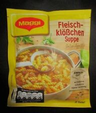 6 x MAGGI Meatball soup with noodles New and fresh from Germany