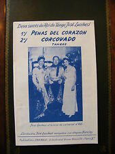 Partizione Peñas del Corazon Corcovado Jose Luchesi Reine del Carnevale Albi