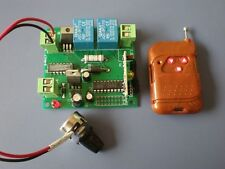 Remote 12V 3A DC Motor Speed Control With Potentiometer