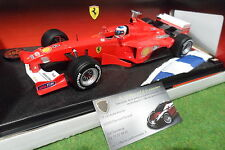 F1 FERRARI F2000 #4 BARRICHELLO 1/18 HOT WHEELS 28659 formule 1 voitur miniature
