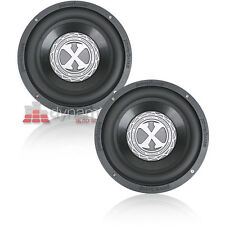 "Two (2) PowerBass 2XL-1504D 15"" Dual 4 ohm 2XLSeries Car Audio Subwoofers New"