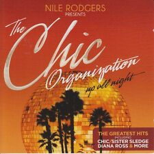 Chic Organization Up All Night 2 CD Set The Greatest Hits 2013