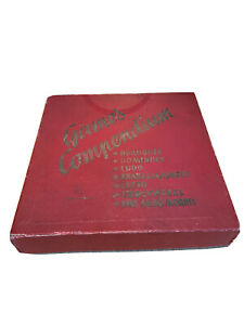 Vintage Games Compendium 7 in 1 Tiddlywinks Ludo Draughts Dominoes Lotto M323