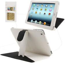 Tasche 2-Colour für Apple iPad 3 / iPad 4 weiß schwarz mit Aufstellfunktion Case