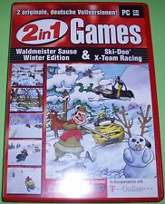 2 in 1 Games - Waldmeister Sause Winter Edition & Ski-Doo X-Team Racing