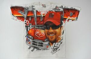 Elliott Sadler #19 Dodge All Over Total Print T-shirt! Size Adult M, L, XL or 2X