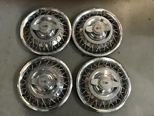 1 Set Vintage Corvair / Chevrolet Chevy II Hubcaps Wheel Covers 13'' #3280