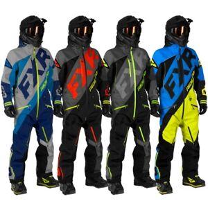 FXR Men's CX Lite Monosuit - Gray & Blue, Red, Black & Lime, or Blue & Hi-Vis
